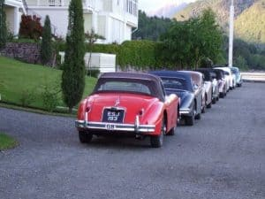 Shipping a classic car for a holiday