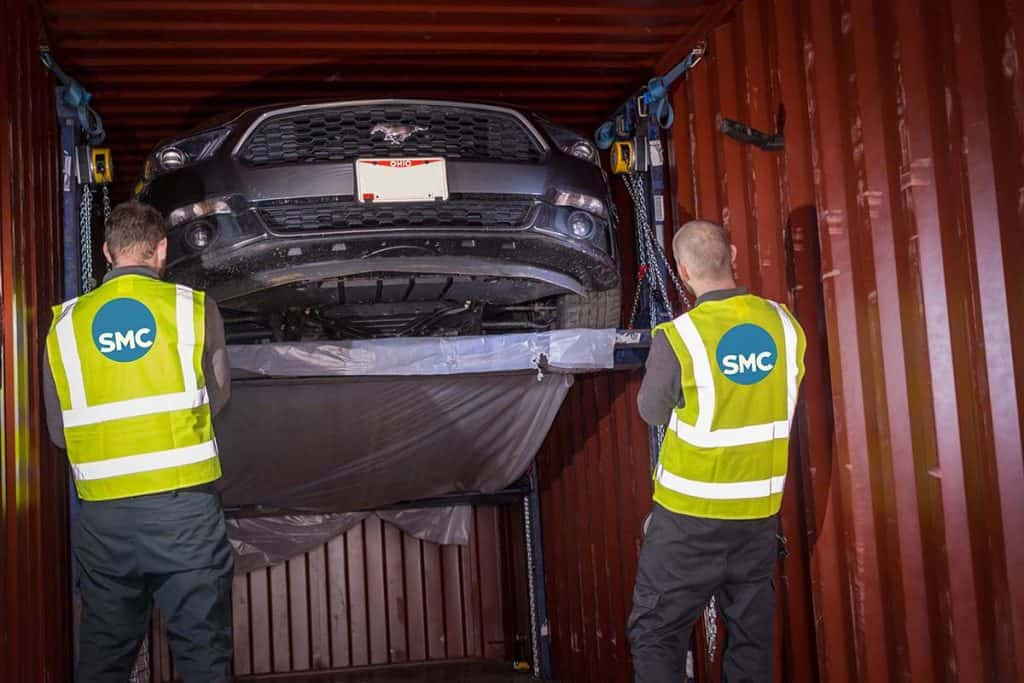 Car Shipping to UK by container